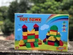 Toy Town Senior Building Blocks (Age 3 yrs)