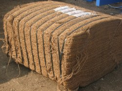 ISHA Coir Fibre Baling Machine, 15 Hp, Production Capacity: 5-6 Bales Per Hour
