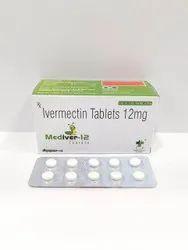 Mediver-12 Ivermectin 12mg Tablets