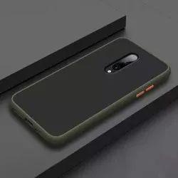 Leather OnePlus 8 Smoke Matte Case