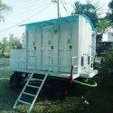 Three Seater Mobile Bio Toilet Van