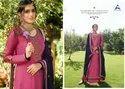 Alisa Fashion Cindrela Satin Georgette With Diamond Work Salwar Kameez Catalog