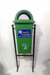 Pole Mounted Plastic Litter Bin