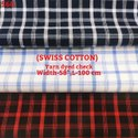 Kamlesh Textiles Formal Swiss Cotton Yarn Dyed Shirting Fabric, Handwash, 150-160