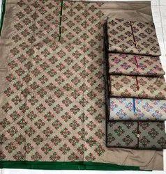 Modi Bros Acro-Wool Ladies Fancy Woolen Unstitched Suit, Packaging Type: Plastic Bag