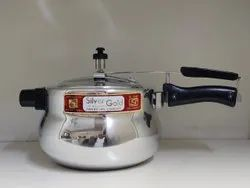 Silver,metro Silver SS-7 Handi Shape Cooker, For Home, Capacity: 3,5 Liter