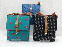 Ikat Print Ladies Bag
