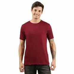 Plain Customized Round Neck T-Shirt Printing Services
