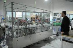 Piston Pump Liquid Filling Machine