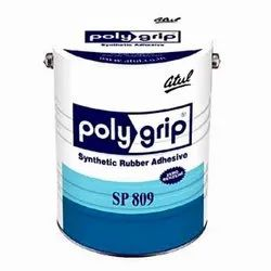Atul SP 809 Polygrip Synthetic Rubber Adhesive, 1 Litre, Metal Bucket