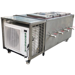 Mongia Stainless Steel Milk Freezer, Capacity: 200 L, Electric