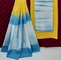 Exclusive Natural Hand Block Printed Cotton Dress Material With Cotton Dupatta.