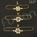 Adjustable Kundan Bracelet