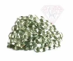 Loose Natural Green Amethyst Gemstone With Nice Finish
