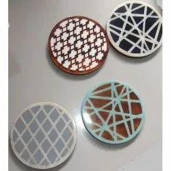 CII-123 MDF Resin Coasters