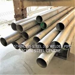 Stainless Steel 316 Welded Pipe