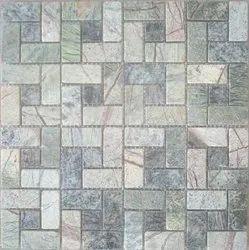 Rain Forest Green Stone Mosaic