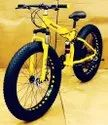 Audi Yellow Fat Tyre Foldable Cycle