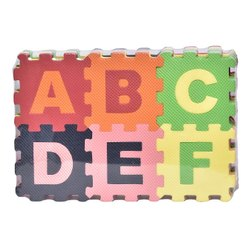 Small Abcd Puzzle Mat