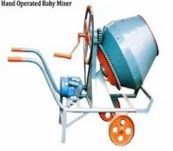 Hand Operated Mixer Machine