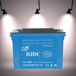 DJDC E Rickshaw Battery