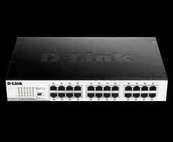 Dlink LAN Capable 24-Port Gigabit Unmanaged Desktop Switch DGS-1024D