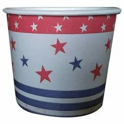 Star Printed Disposal Cup, For Event, Capacity: 150 ML