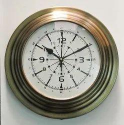 Antique Brass Wall Clocks