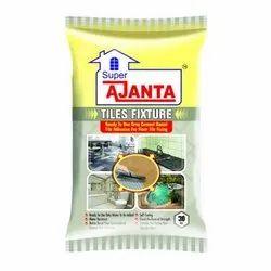 Super Ajanta Grey Cement Based Floor Tile Fixture Adhesive, 30 Kg, PP Bag