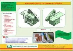 Absorbent Cotton Wool Roll Making Machine