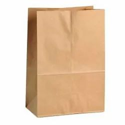 Punch Siddhi 80 GSM Paper Bag Brown, 8x13-inch ) 3 KG, For Grocery