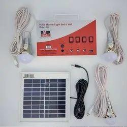 DARK Fight Solar Home Light Set
