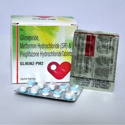 Glimepiride Metformin Hydrochloride SR And Pioglitazone Hydrochloride Tablets