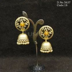 Ladies Fashionable Designer Jhumka Earrings