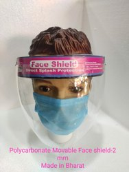 Polycarbonate Movable Face Shield- 2mm