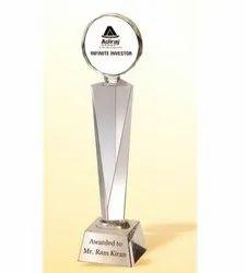 CG 176 Crystal Coin Trophy