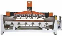 3D Cylinder Stone Carving Machine