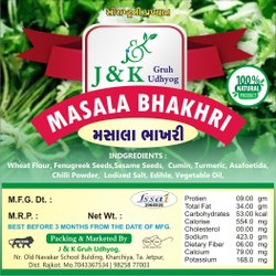 Masala Natural Bhakri