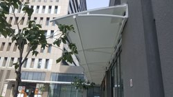 Hotel Tensile Roofing Structure