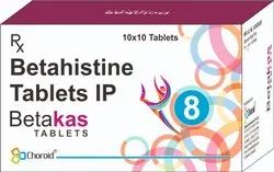 BETAHISTINE 8 MG TABLETS (BETAKAS 8)
