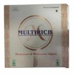 Lupin Multivitamin And Multimineral Softgels, 10x3x10 Capsules, Prescription