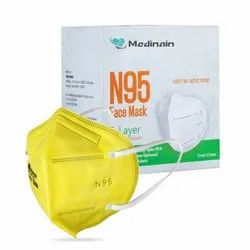 Medinain 5 Layer Disposable Ce,iso And Who-gmp Certified With Adjustable Built-in Nose Pin