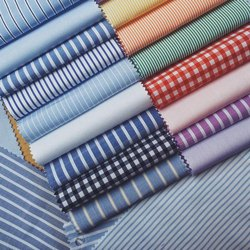 Cotton Blend Shirting Fabric