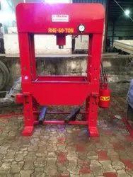Hand Operated Hydraulic Press 60 Ton