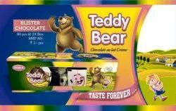 Brown Blister Teddy Bear Liquid Chocolate