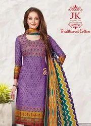 j k Cotton Traditional Cotton Vol 1 Dress Material Catalog