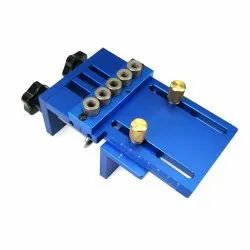 Aluminium Bondwell Dowelling And Mini Fixing Jigs 5 In 1 Hole, For Cabinet Fitting, Wood Precision Drilling