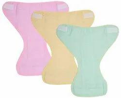 Peubud Newborn Baby's Muslin Double Cotton Thick Cloth Strips Nappy/Langot