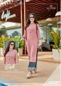 Mittoo Paghat Vol 11 Heavy Rayon Liva Approved With Embroidery Work Kurti With Plazzo Catalog