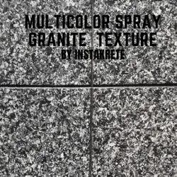 Multicolor Granite Finish Texture